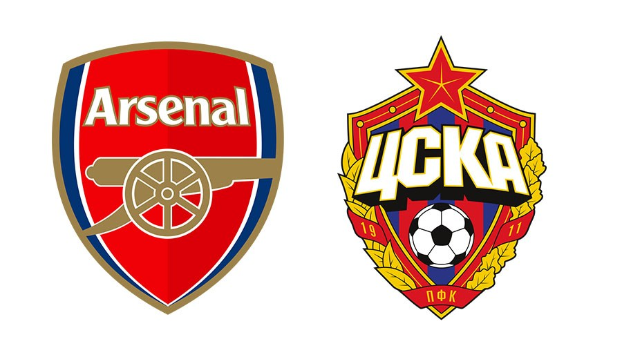 Arsenal FC take on CSKA Moscow